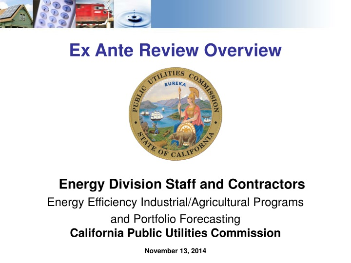 ex ante review overview n.