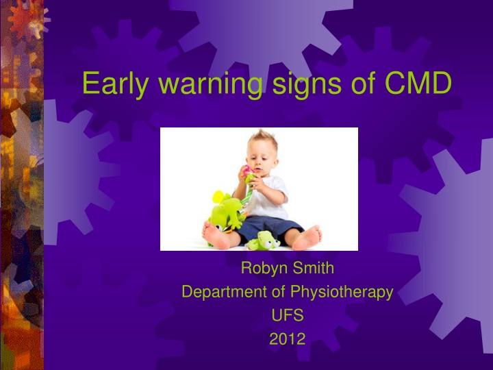 early warning signs of cmd n.