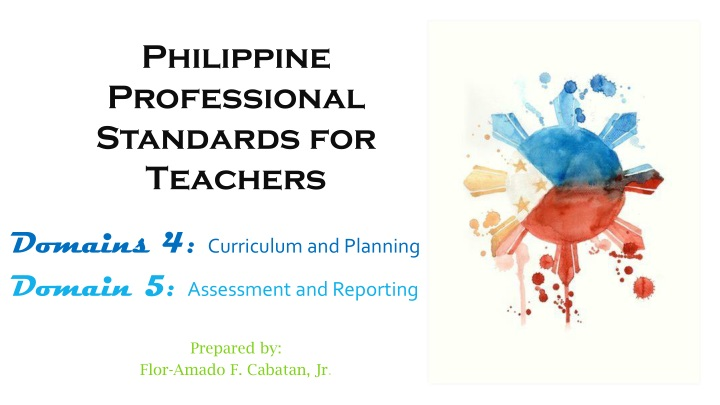 philippine professional standards for teachers n.