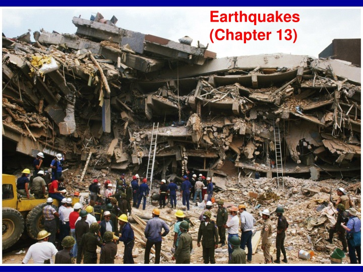 earthquakes chapter 13 n.