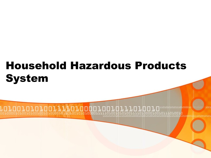 household hazardous products system n.