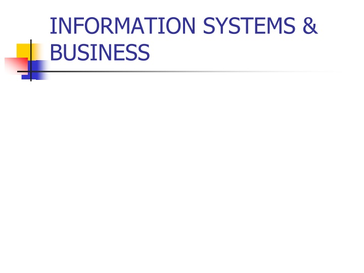 information systems business n.