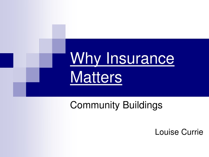 why insurance matters n.