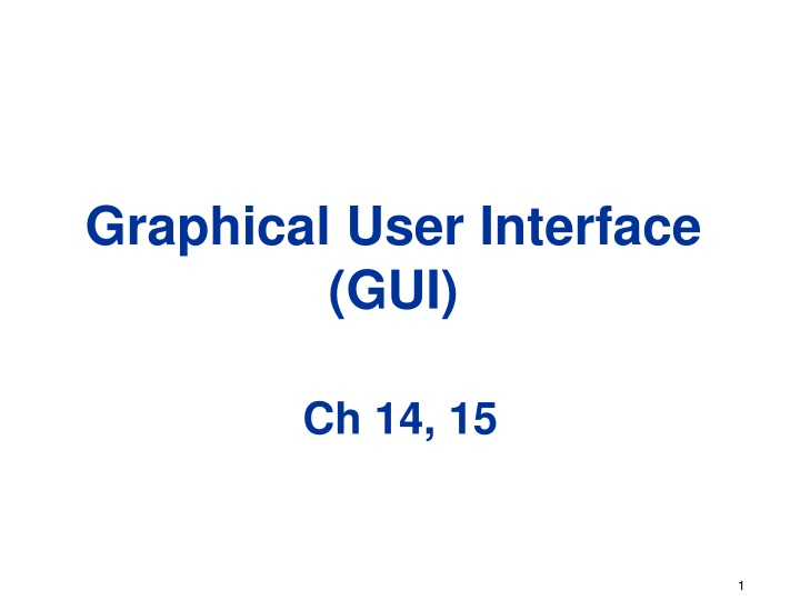graphical user interface gui n.