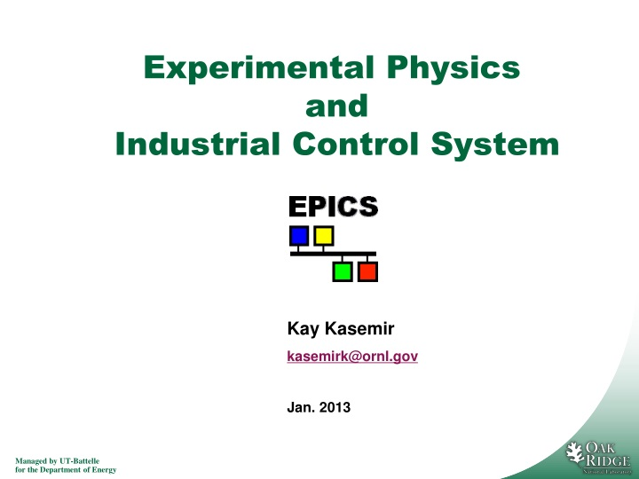 experimental physics and industrial control system n.