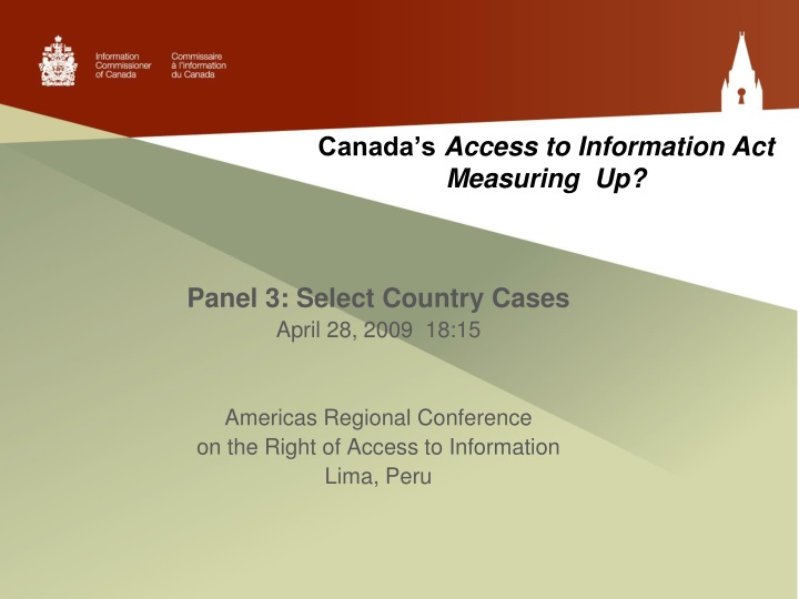 canada s access to information act measuring up n.
