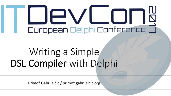 writing a simple dsl compiler with delphi n.