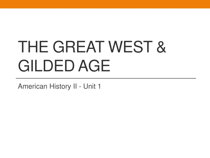 the great west gilded age n.
