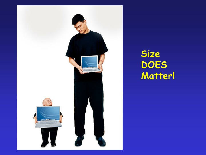 size does matter n.
