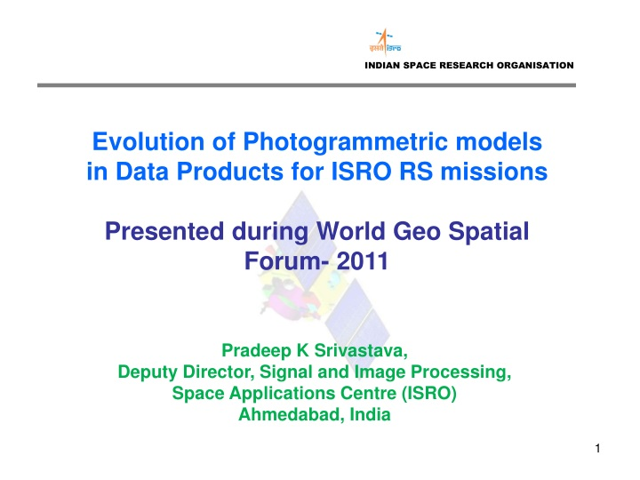 indian space research organisation n.