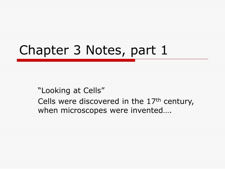 chapter 3 notes part 1 n.