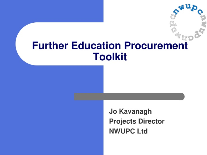 further education procurement toolkit n.