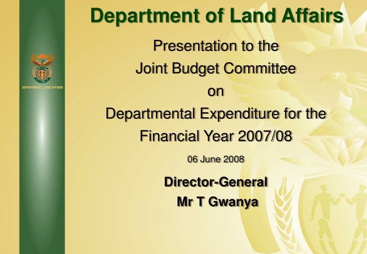department of land affairs n.