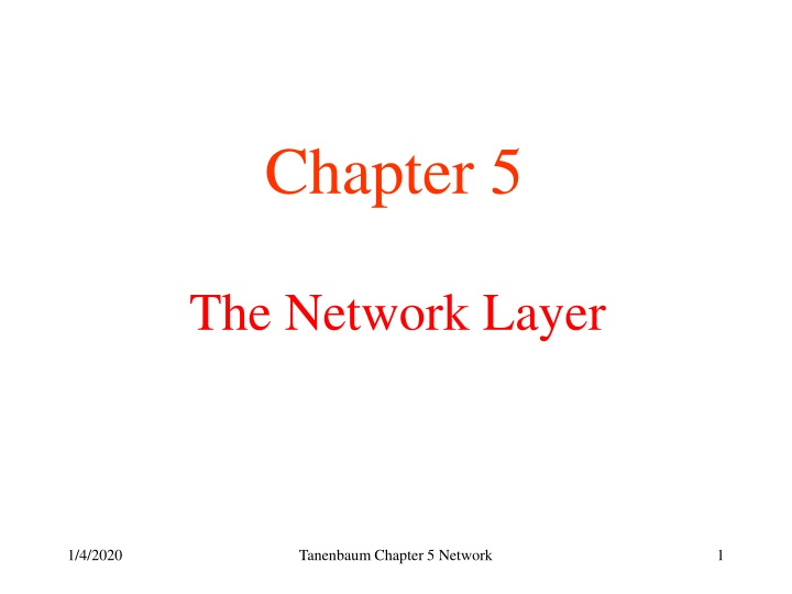 the network layer n.