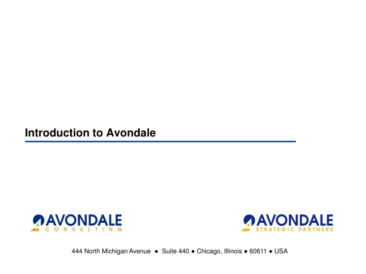 introduction to avondale n.