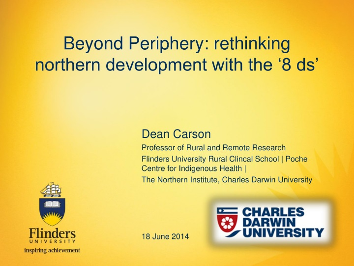 beyond periphery rethinking northern development with the 8 ds n.