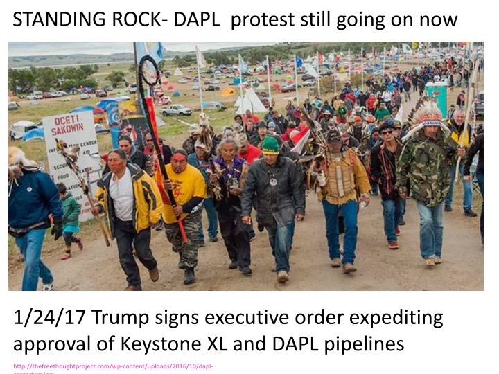 standing rock dapl protest still going on now n.