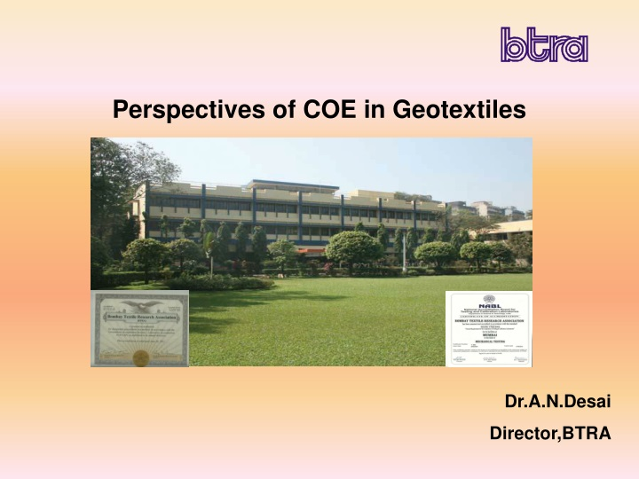 perspectives of coe in geotextiles n.