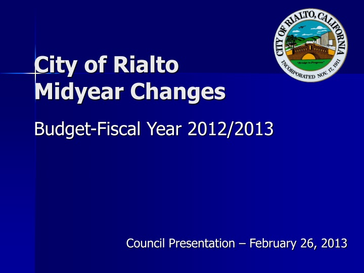 city of rialto midyear changes n.