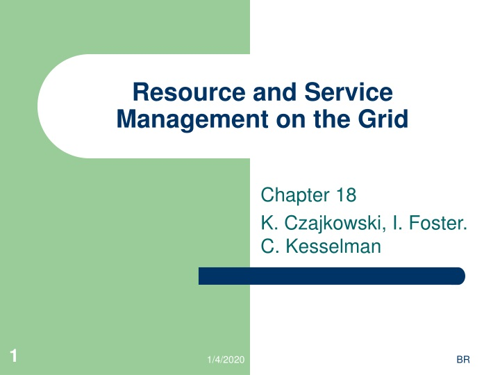 resource and service management on the grid n.