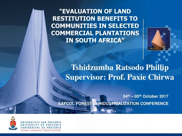 evaluation of land restitution benefits n.