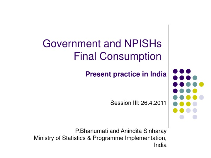 government and npishs final consumption n.