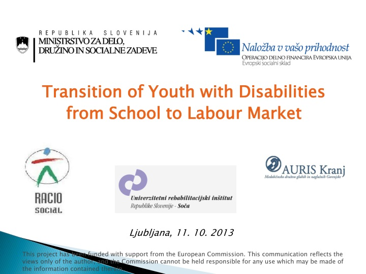 transition of youth w ith disabilities from n.