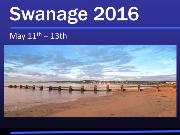 swanage 2016 may 11 th 13th n.