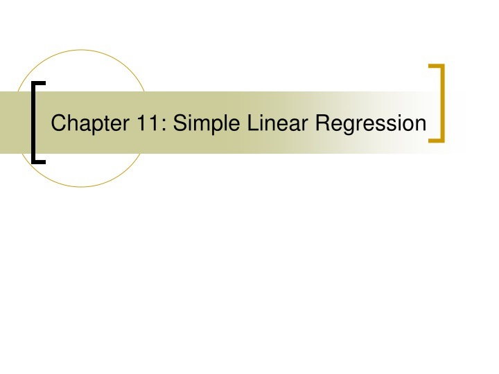 chapter 11 simple linear regression n.