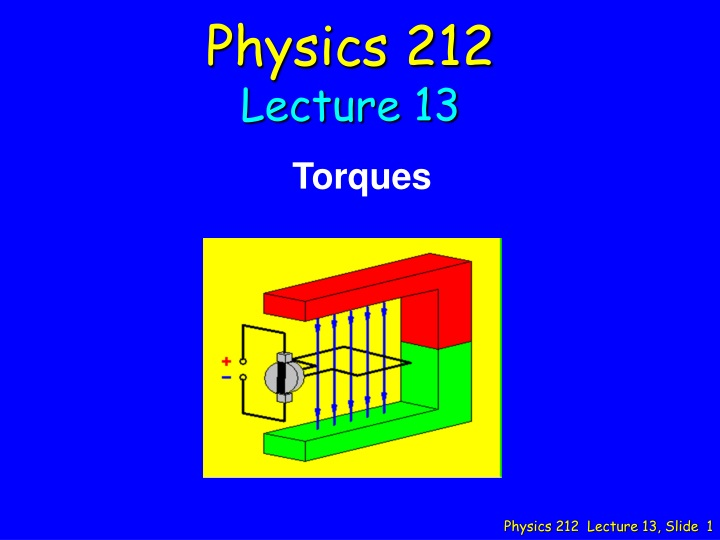physics 212 lecture 13 n.