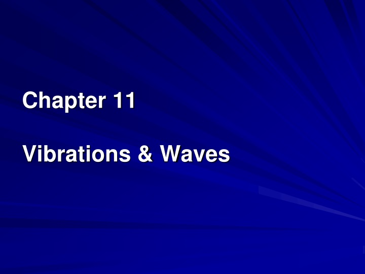 chapter 11 vibrations waves n.