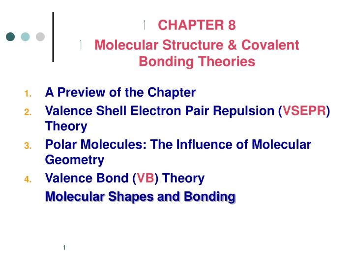 chapter 8 molecular structure covalent bonding n.