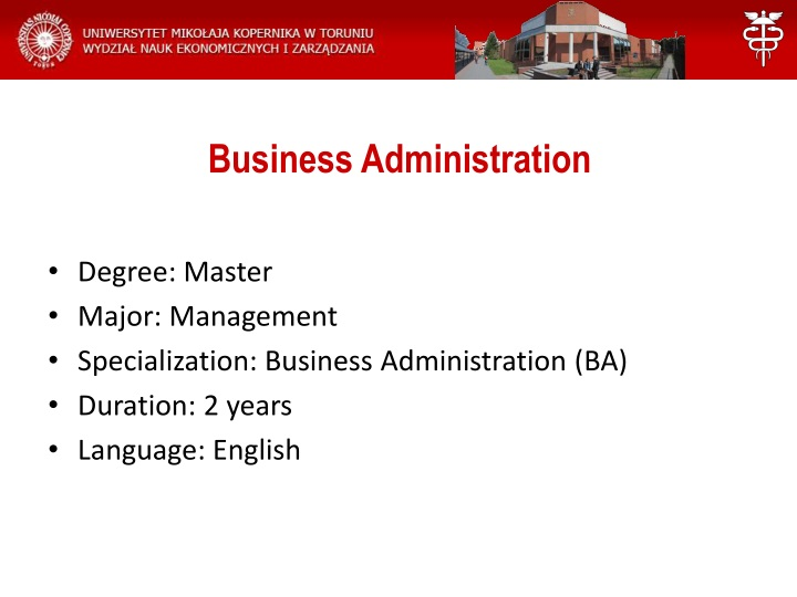 business administration n.