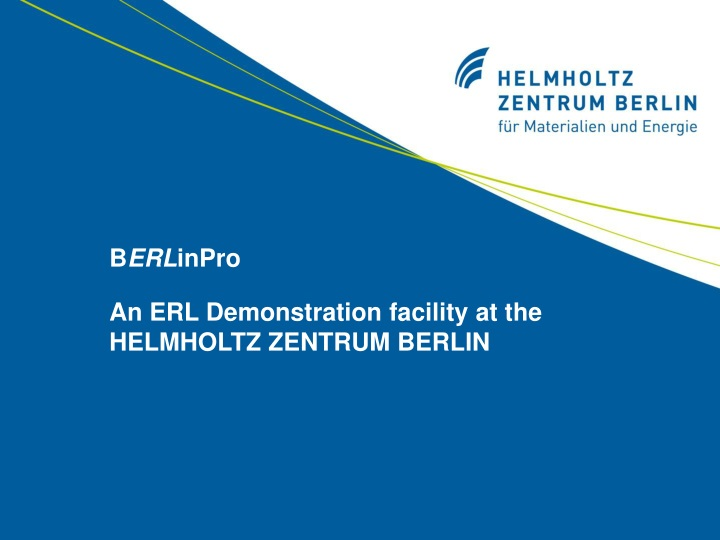 b erl inpro an erl demonstration facility n.