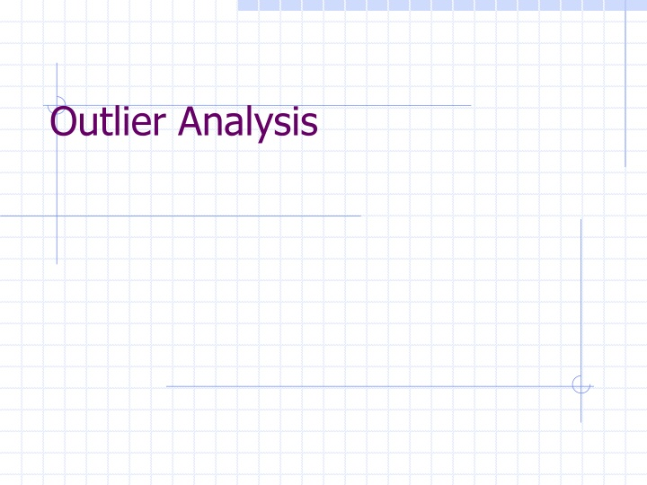 outlier analysis n.