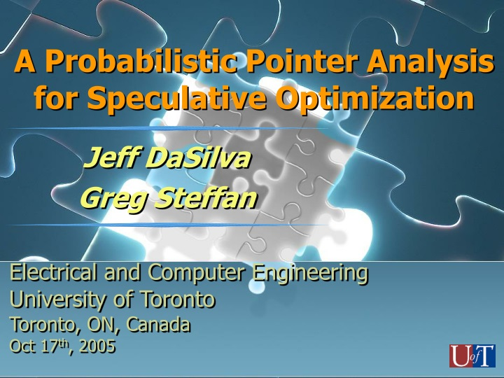 a probabilistic pointer analysis for speculative optimization n.