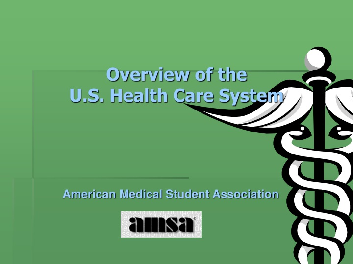overview of the u s health care system n.