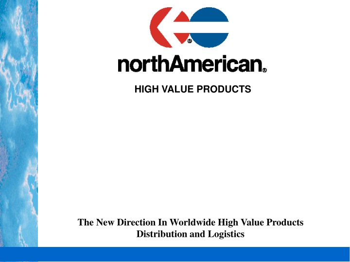 high value products n.