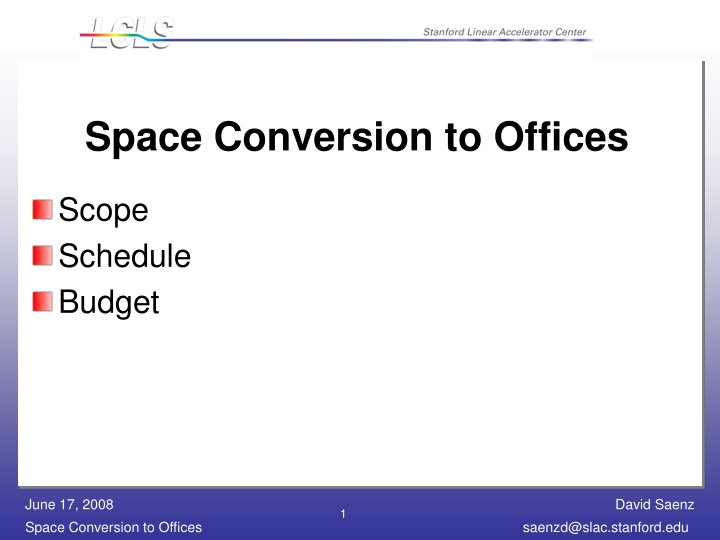 space conversion to offices n.