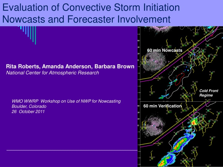 evaluation of convective storm initiation n.