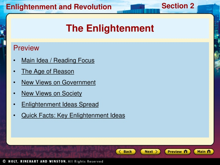 preview main idea reading focus the age of reason n.