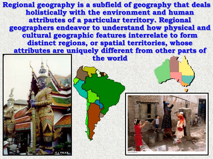 regional geography is a subfield of geography n.