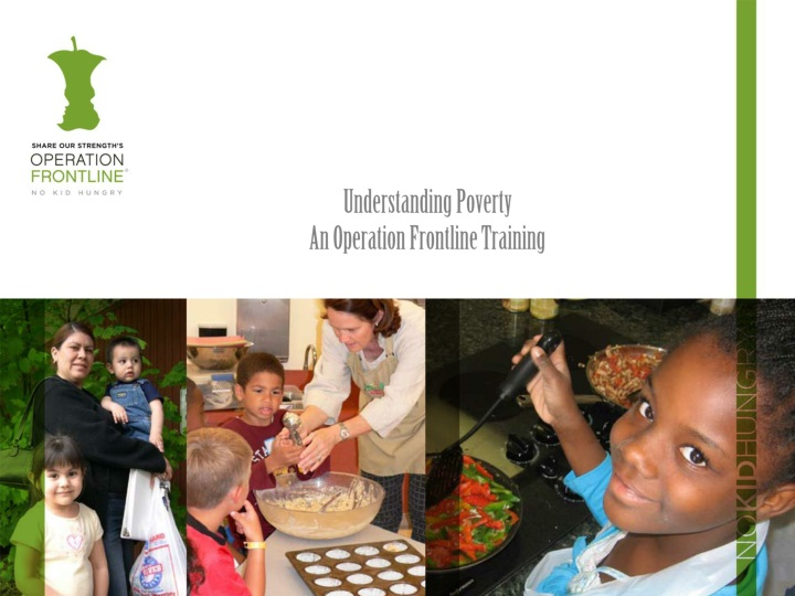 understanding poverty an operation frontline training n.