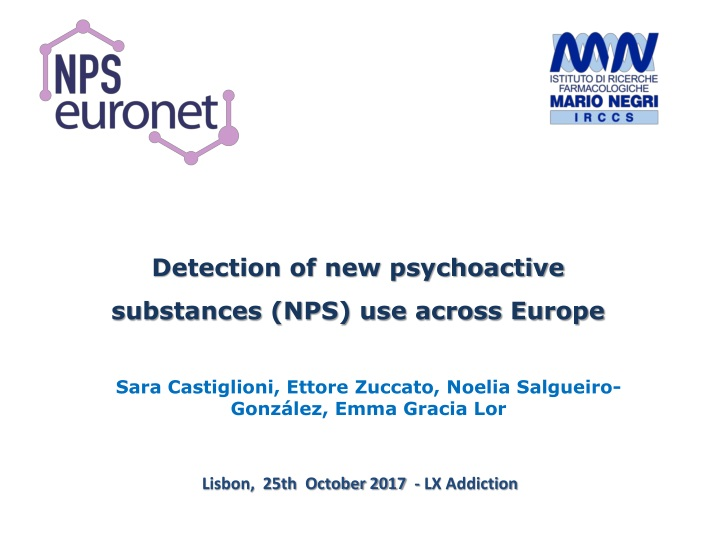 detection of new psychoactive substances n.