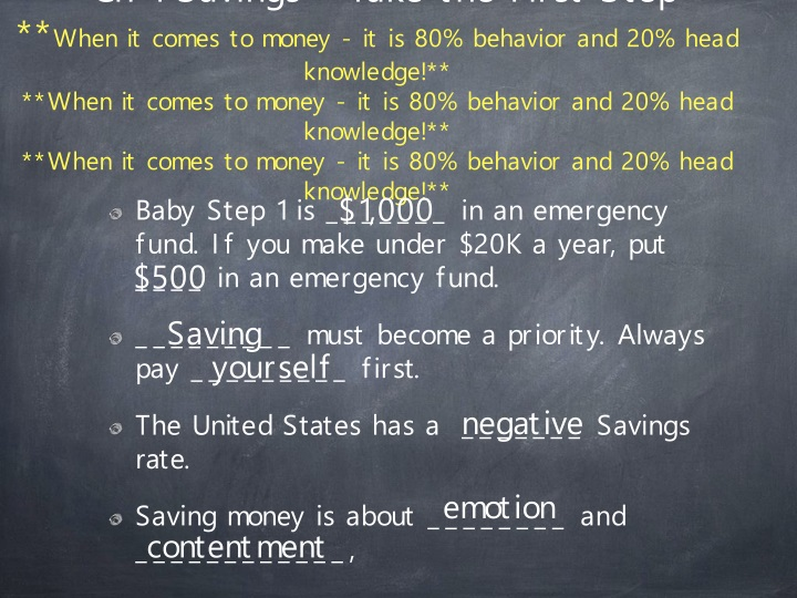ch 1 savings take the first step when it comes n.
