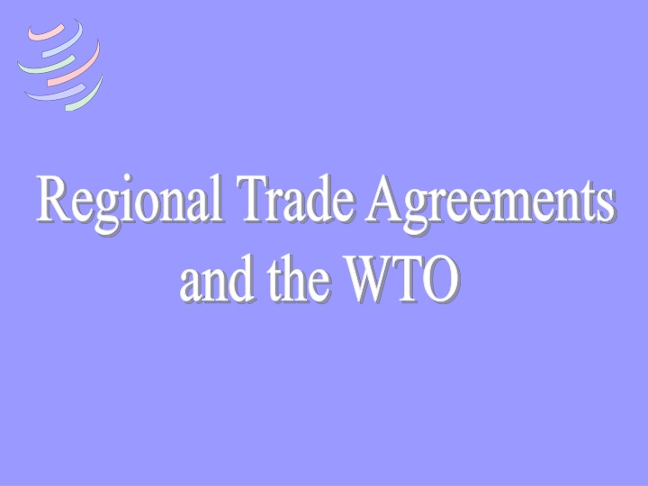 regional trade agreements and the wto n.
