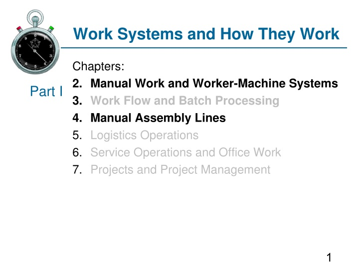 work systems and how they work n.