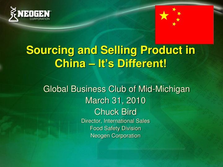 sourcing and selling product in china it s different n.