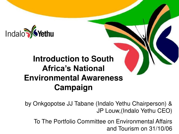 introduction to south africa s national n.