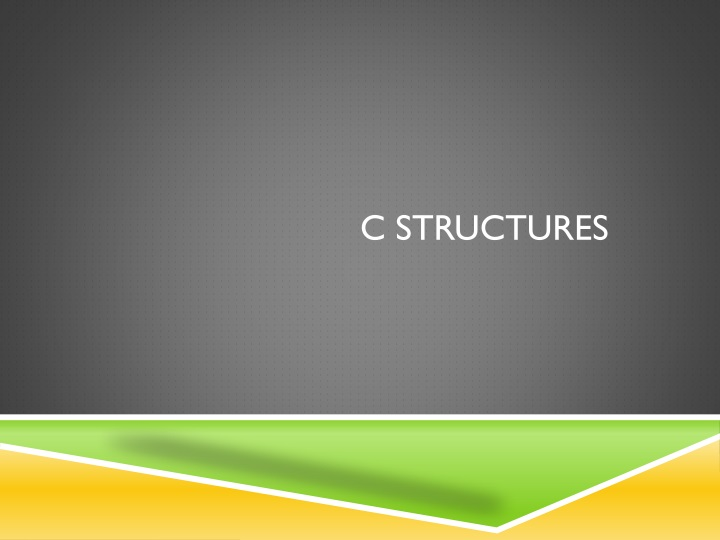 c structures n.